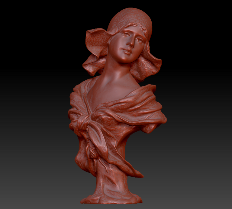 20s Bust Front