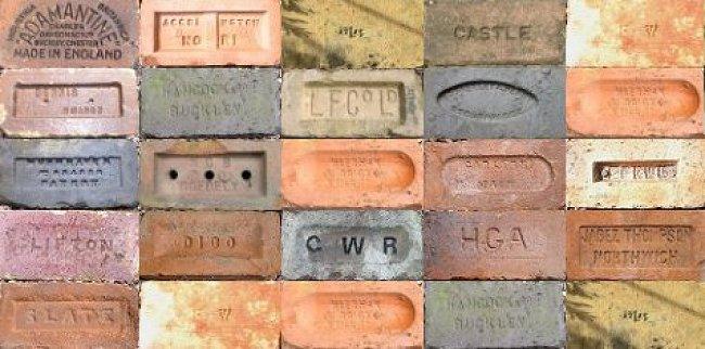 bricks collage