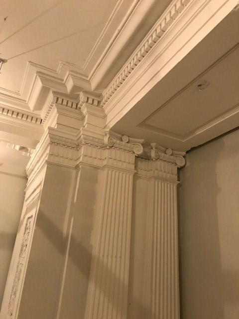 detail of classical architecture