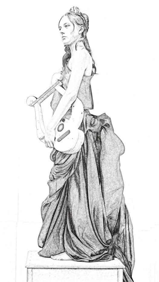 Charlotte - music pose 2